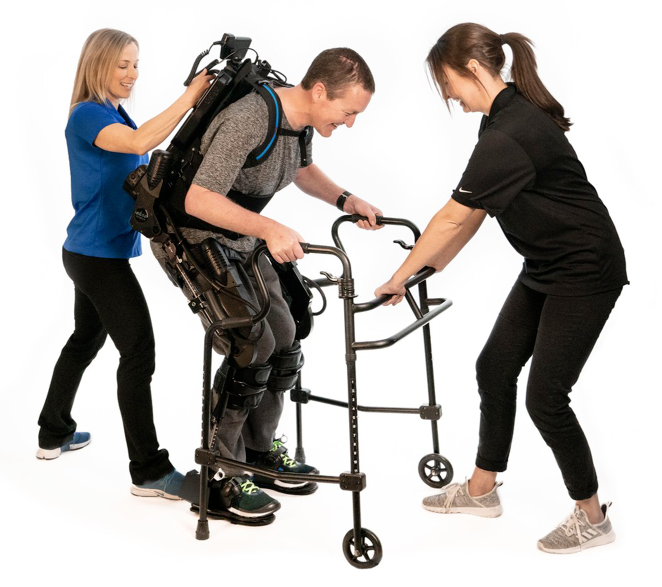 Eksosuit for physical therapy