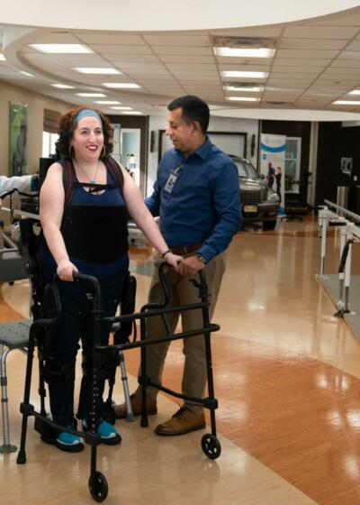 How Exoskeletons Can Help People With Paraplegia Walk Again